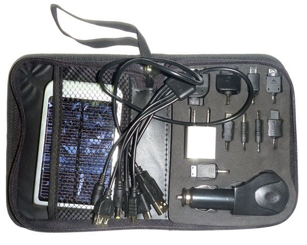 All-in-One High Power Solar Charger Toolkit