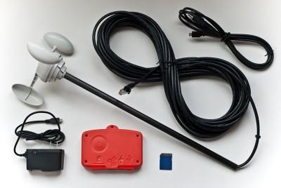 Anemometer & Wind Data Logger Kit