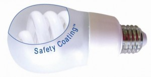 ArmorLite Safety Coating for Compact Fluorescent Lights