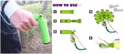 BunBun eco light- A Flashlight with a twist