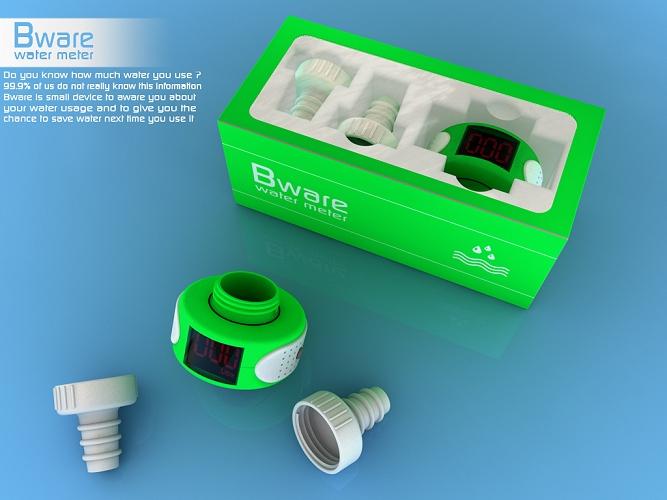 Bware Water Usage Monitoring Meter
