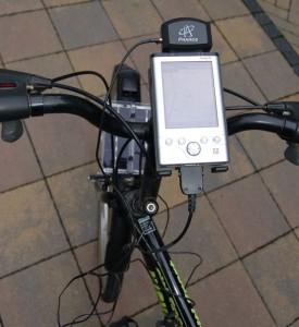 DIY Solar Powered Bicycle GPS Gadget
