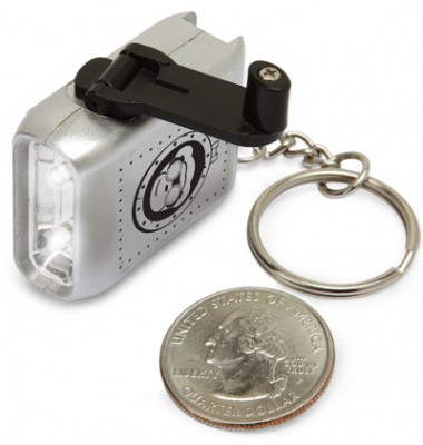 Dr. Timmy's Micro Hand Cranked LED Torch