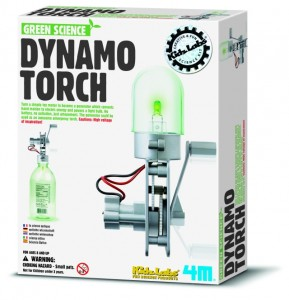 Dynamo Torch and Windmill Generator Eco Toys
