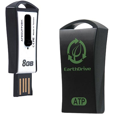 8GB EarthDrive – Recyclable Flash Drive