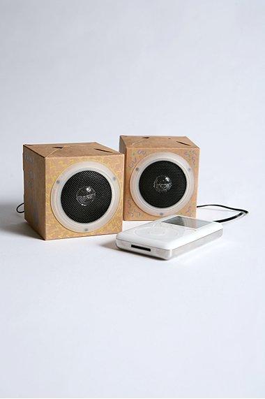 DIY Cardboard Eco Speakers