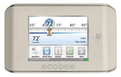 ecobee Smart Programmable Thermostat System