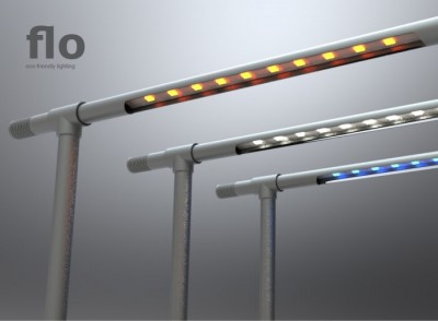 Flo – The Eco-friendly Lighting System Concept
