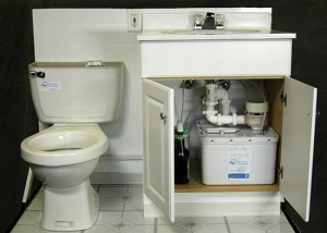 Sloan's Greywater System – Recycles water for toilet flushing