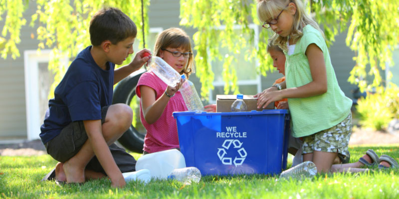 How to Go Green with Recycling