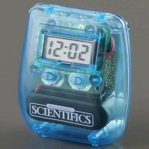 Liquid-Powered Digital Clock