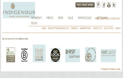 Indigenous-Exclusive Store for organic clothing