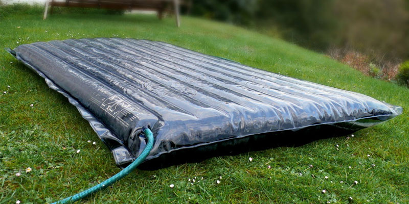 Inflatable Solar Panels that fit in a Backpack