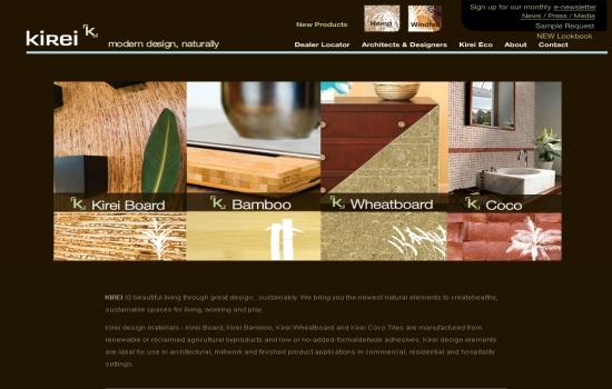 Kirei USA Eco-Friendly Construction Materials