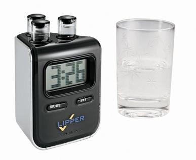 Leeds 1025-77BK Elements – Water Powered Clock