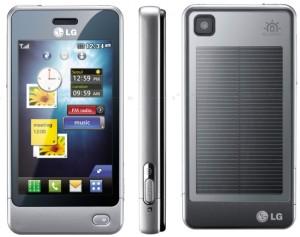LG GD510 Pop phone with Solar Panel