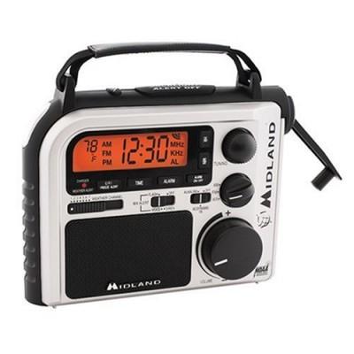 Midland ER102 – Emergency AM/FM Weather Crank Radio