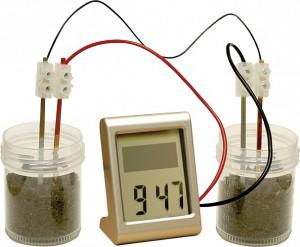 Customisable Mud Powered Digital Clock