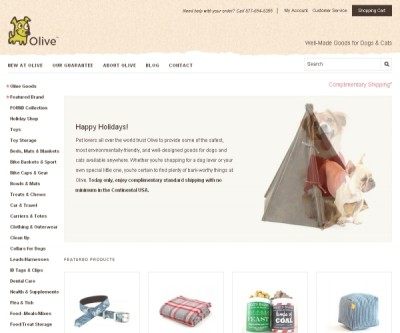 Eco-Friendly Pet Products from Olive Green Dog