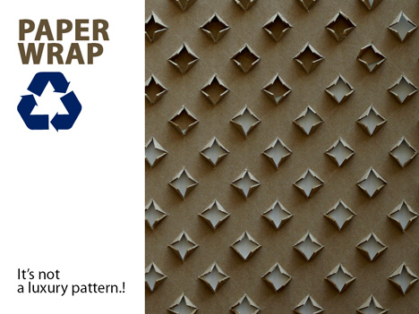 Bubble Wrap Alternative – Paper Wrap