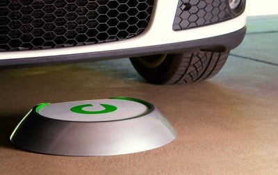 Plugless Power Vehicle Charging System for Electronic Cars