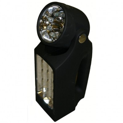 2 in 1 LED Wind Up Energy Saving Torch Lantern By Proteam