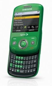 Sprint launches Samsung Reclaim – Bio-plastic Phone