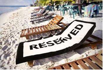 A review about reserved beach towel