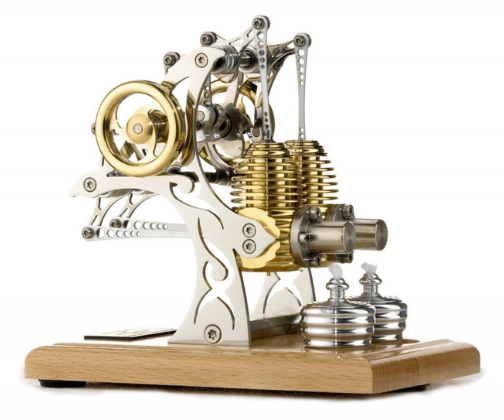 Stirling Engine Kit – powered by your hands!