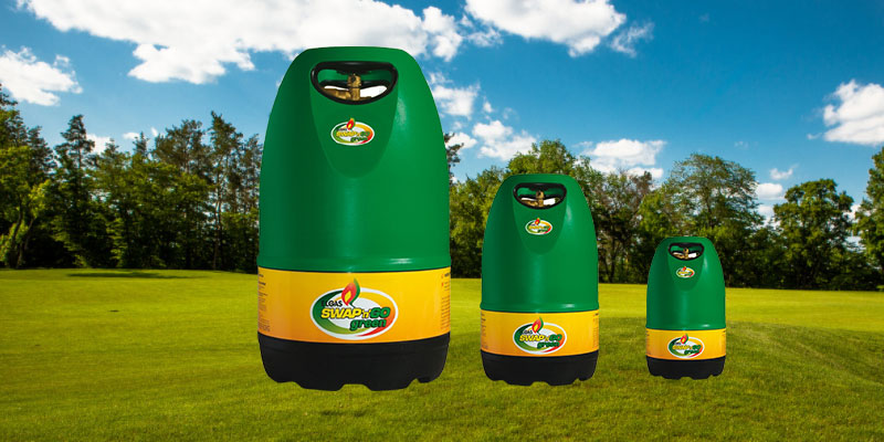Swap And Go Green LPG Cylinders