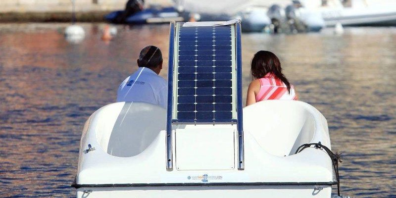 The Pedal Boat Gets a Solar Powered Boost