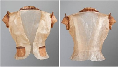 Vegetable Cloth Drown In Laboratory Predicting To Be Future Fashion