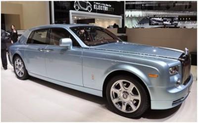 Rolls Royce 102EX Phantom Eco-Friendly Concept