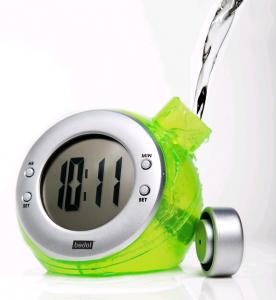Eco-Friendly Water Powered Digital Clock