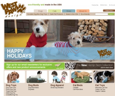 West Paw Design- Eco-Friendly Toys, Furnishings and Apparel for pets
