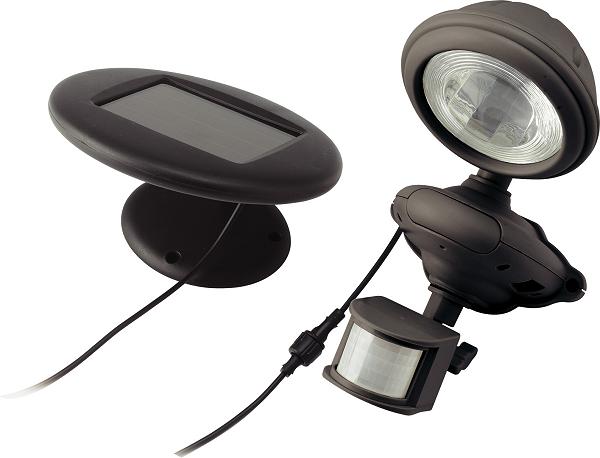 solar powered pir security light envirogadget. Black Bedroom Furniture Sets. Home Design Ideas