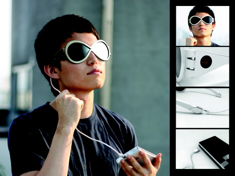 Solar Powered Solar Panel Sun Glasses