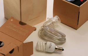 Wine Packaging - Lamp Kit