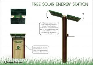 Free Solar Energy Station