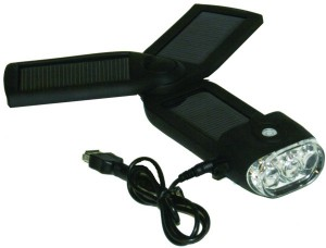Sol Jus Solar Charger and Flashlight