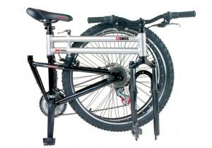 Swiss Bike - Folding Bike Folded