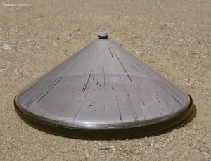 Water Cone Evaporation