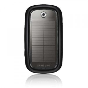 Samsung Eco-Friendly Mobile Phone Blue Earth