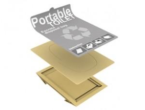 Cardboard Portable Toilet