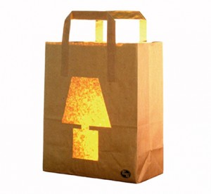 Eco-Friendly Paper bag Light