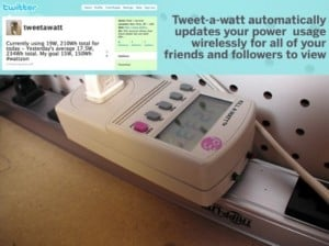 Tweeting your Power Usage with Tweet-a-Watt