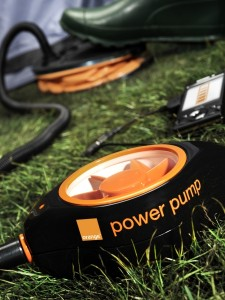 Orange Power Pump Charger