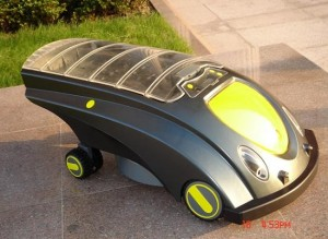 RBZG001 Solar Lawnmower Robot
