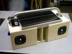 Solar Powered Boombox
