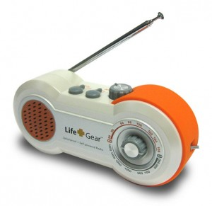 Wind up radio camping